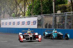 Bruno Senna, Mahindra Racing et Nelson Piquet Jr., NEXTEV TCR Formula E Team