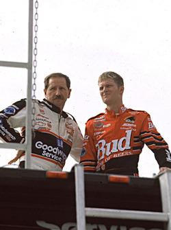 Dale Earnhardt and Dale Earnhardt Jr.