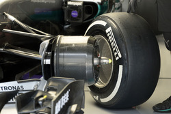 Mercedes AMG F1 Team W07 front detail