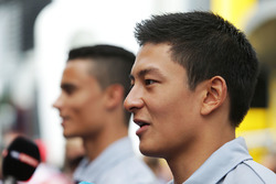 Rio Haryanto, Manor Racing avec Pascal Wehrlein, Manor Racing