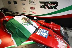#43 RGR Sport by Morand, Ligier JSP2 - Nissan: Ricardo Gonzalez, Filipe Albuquerque, Bruno Senna