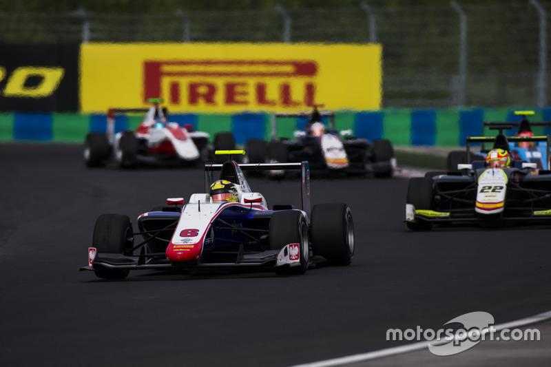 Artur Janosz, Trident y Alex Palou, Campos Racing