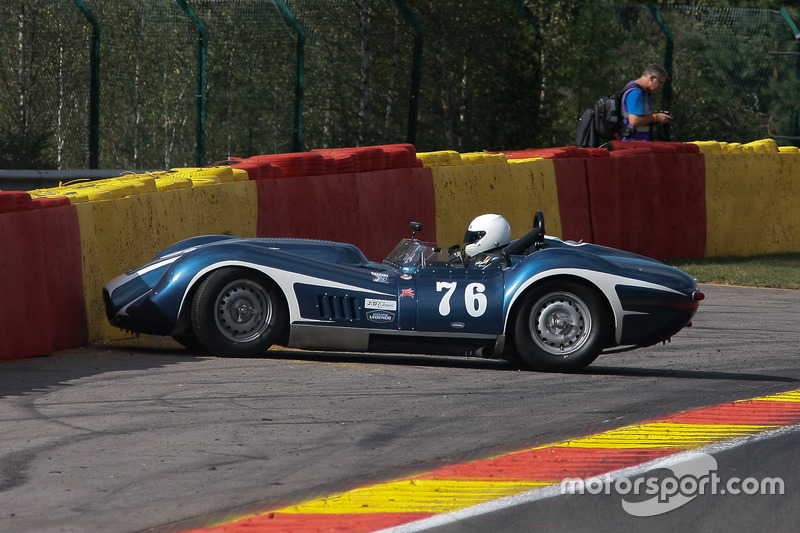 #76 Lister-Chevrolet 'Knobbly' (1989): Mark Gibbon, James Gibbon