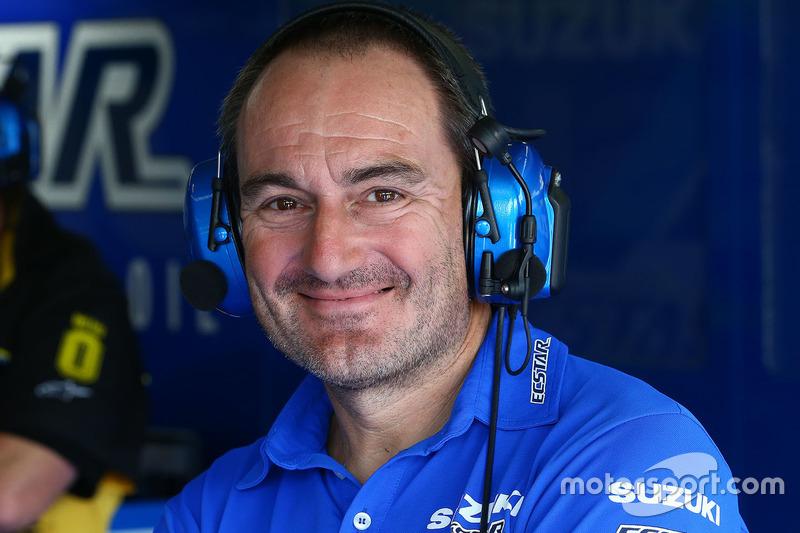 Ray Hughes, Team Suzuki MotoGP