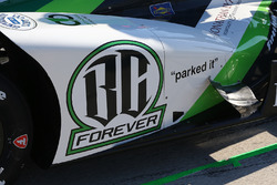 Conor Daly, Dale Coyne Racing Honda, side pod