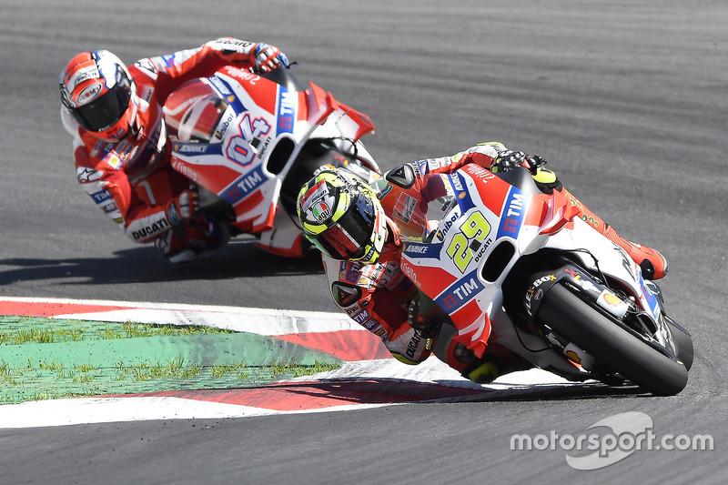 Ducati Desmosedici 2016 - Andrea Iannone e Andrea Dovizioso