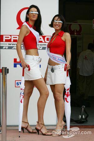 Meisjes van Pramac Racing