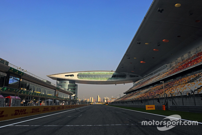 GP de China, Circuito Internacional de Shanghai