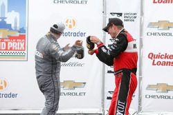 Sébastien Bourdais, KV Racing Technology Chevrolet, Juan Pablo Montoya, Team Penske Chevrolet