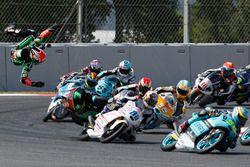 Choque de Adam Norrodin, Drive M7 SIC Racing Team