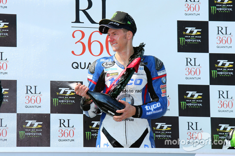 Winnaar Ian Hutchinson, Tyco BMW, BMW