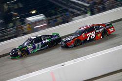 Denny Hamlin, Joe Gibbs Racing Toyota, Martin Truex Jr., Furniture Row Racing Toyota
