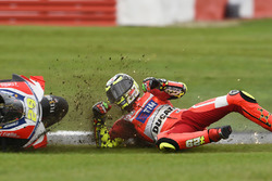 Andrea Iannone, Ducati Team crash