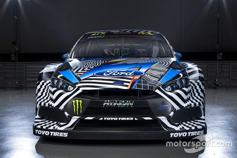 Ken Block, Hoonigan Racing Division Ford livery