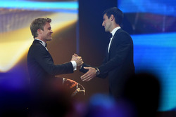 Nico Rosberg, Mercedes AMG F1 Team congratulates Novak Djokovic, Laureus World Sportsmen of the Year