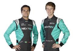 Nelson Piquet Jr., et Oliver Turvey, NeXTEV TCR Formula E Team