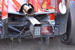 Parte trasera, Ferrari SF16-H