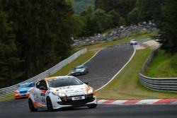 Axel Jahn, Florian Quante, Andrei Sidorenko, Renault Megane RS