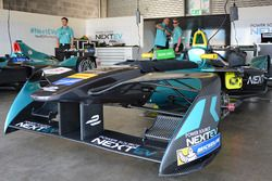 Teambereich von NEXTEV TCR Formula E Team