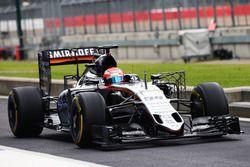 Nikita Mazepin, Sahara Force India F1 VJM09 Geliştirme Pilotu