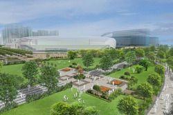 Rendering Kai Tak Sports Park