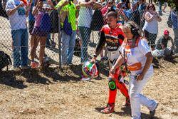 Problemas en la corksrew para Davide Giugliano, Aruba.it Racing - Ducati
