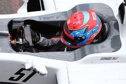 Santino Ferrucci, pilote de développement Haas F1 Team VF-16