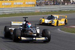 Jos Verstappen im F1-Doppelsitzer von Minardi