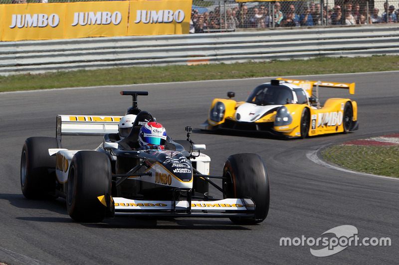 Jos Verstappen, F1 dos plazas