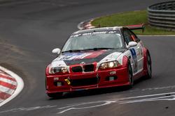 #84 Hofor-Racing, BMW M3 GTR: Martin Kroll, Chantal Kroll, Michael Kroll, Roland Eggimann