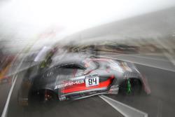 #84 AMG - Team HTP Motorsport, Mercedes-AMG GT3: Jazeman Jaafar, Dominik Baumann, Maximilian Buhk
