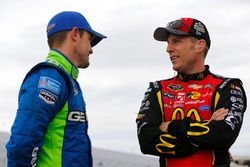 Casey Mears, Germain Racing Chevrolet, Jamie McMurray, Chip Ganassi Racing Chevrolet