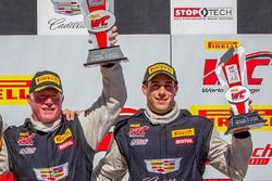 Podium: winner Johnny O'Connell, Cadillac Racing, third place Michael Cooper, Cadillac Racing