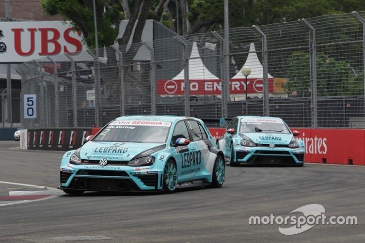 Жан-Карл Верне та Стефано Коміні, Leopard Racing