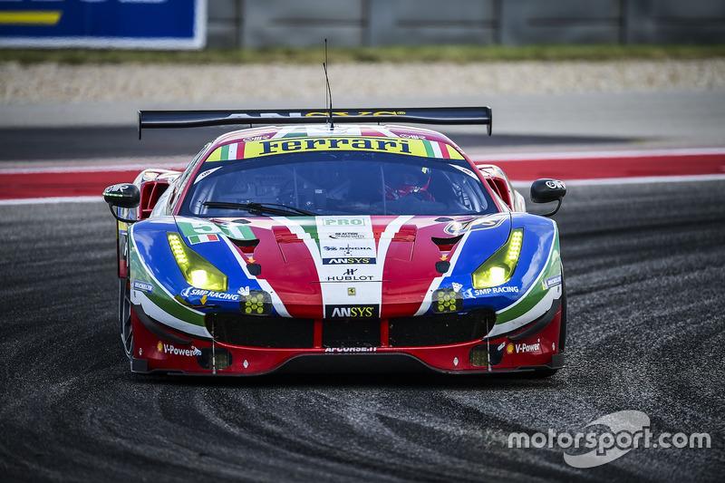 4. GTE-Pro: #51 AF Corse, Ferrari 488 GTE: Gianmaria Bruni, James Calado