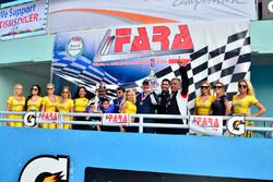 FARA Race of Champions MP2B podium