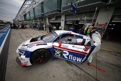 #25 Sainteloc Racing Audi R8 LMS GT3: Christian Kelders, Marc Rostan, Marco Bonanomi