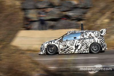 Tests de la Volkswagen Polo R WRC 2017