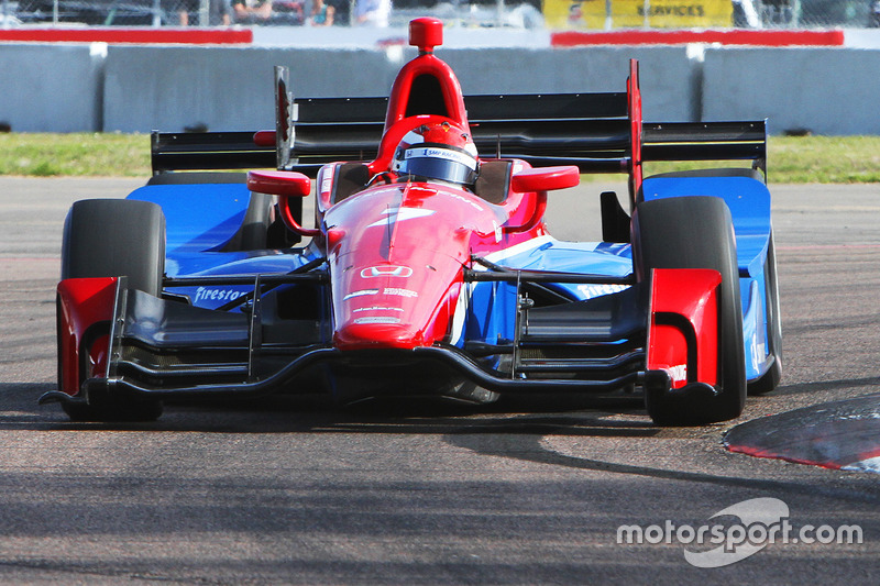 #7: Mikhail Aleshin (Schmidt-Honda)