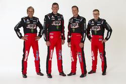 Воррен Лафф, Гарт Тандер, Джеймс Кортні, Джек Перкінс, Holden Racing Team