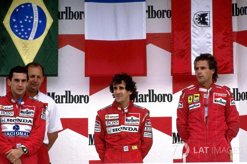 McLaren: 11 victorias seguidas en 1988