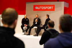 Lawrence Tomlinson of Ginetta talks to Henry Hope-Frost on the Autosport Stage