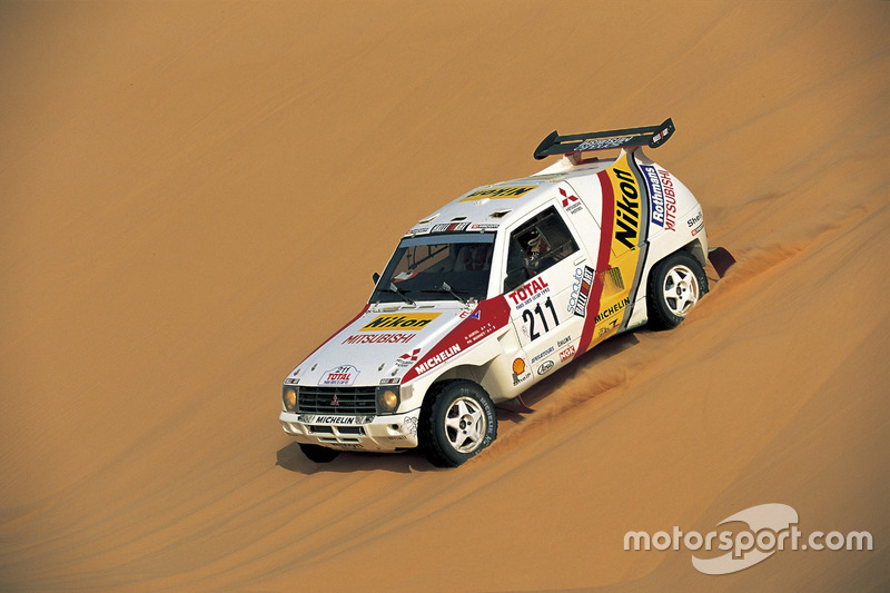 1992: Hubert Auriol, Mitsubishi Pajero
