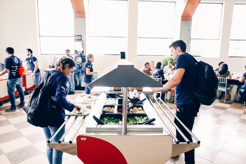 Cafetería para pilotos