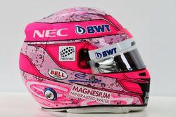 Kask, Esteban Ocon, Sahara Force India F1 Team