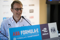 Sylvain Filippi, Chief Technology Officer, DS Virgin Racing, in the press conference