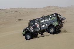 Федерико Вильягра, Рикардо Торлаши и Адриан Якопини, YPF Infinia Diesel Team de Rooy, Iveco Powersta