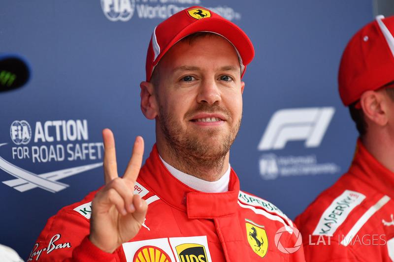 Na China, a estrela de Vettel voltou a brilhar e o alemão voltou a cravar a pole