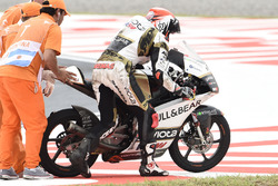 Albert Arenas, Ángel Nieto Team Moto3, crash
