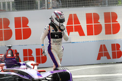 Alex Lynn, DS Virgin Racing, crash